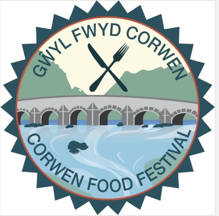 The logo for the Corwen Food Festival
